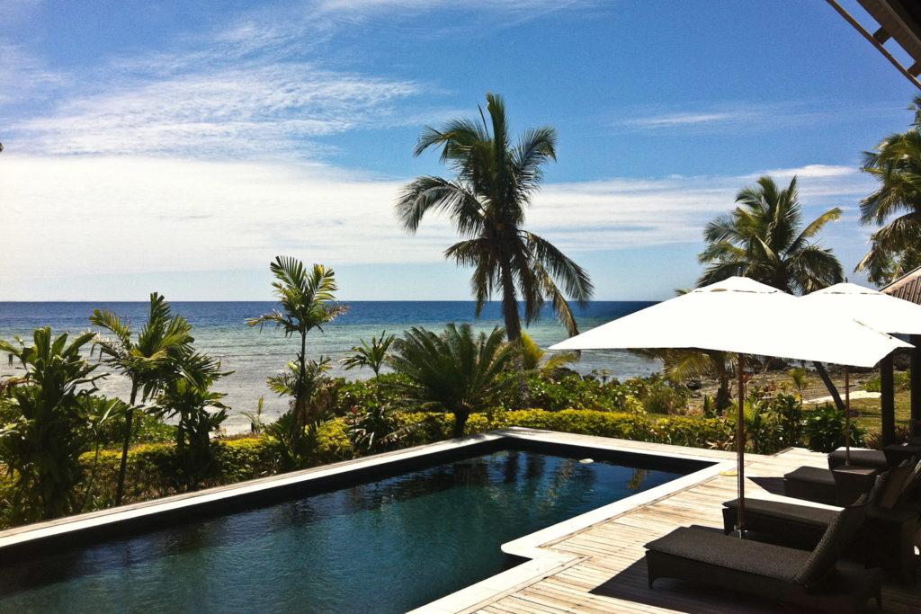 The Royal Villa at Vomo Island Resort.