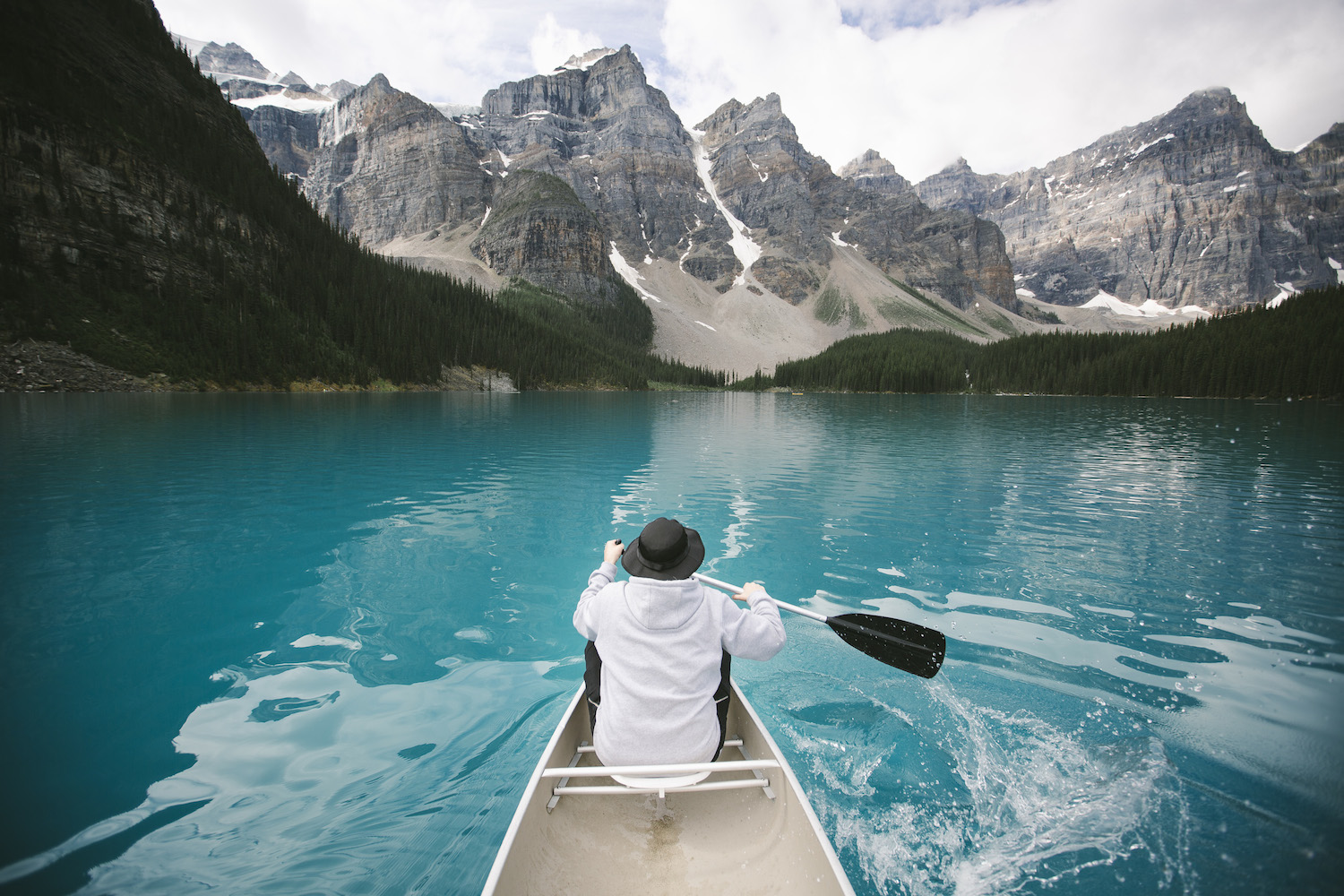 Why You Should Make Time For Banff S Moraine Lake