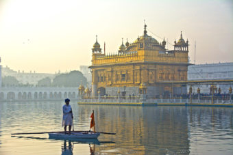 Golden Temple in Amritsar, India.