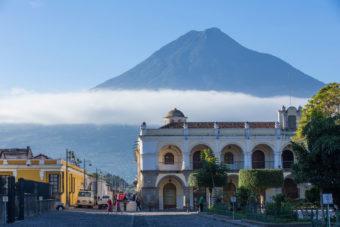 Agua Volcano in Guatemala's Antigua.