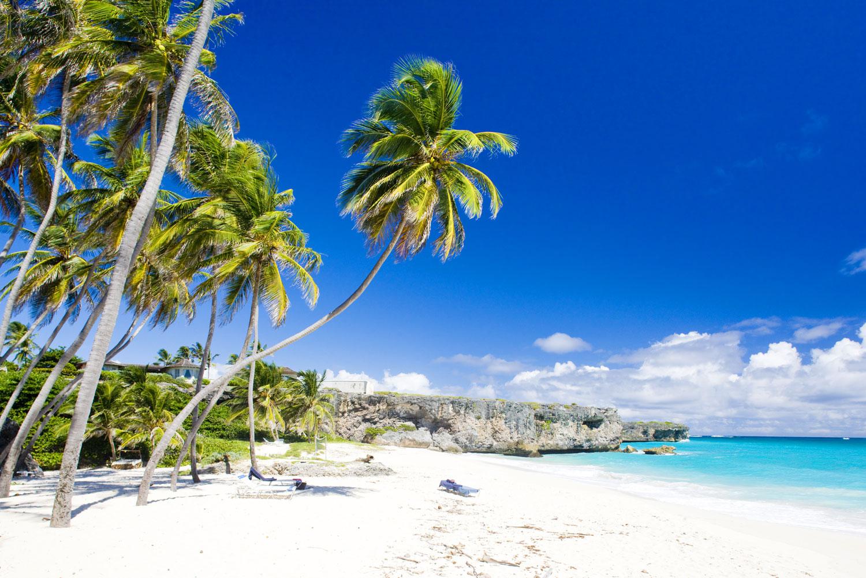 Bottom Bay in Barbados, the Caribbean.