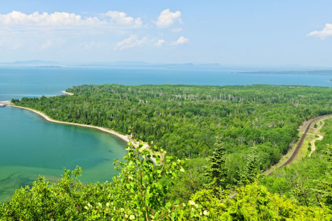 Lake Superior is the largest of the Great Lakes in North America,