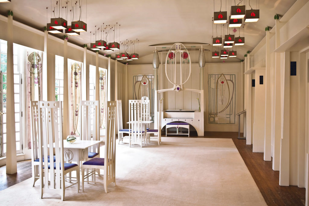 House for an Art Lover inspired by the designs of Charles Rennie Mackintosh