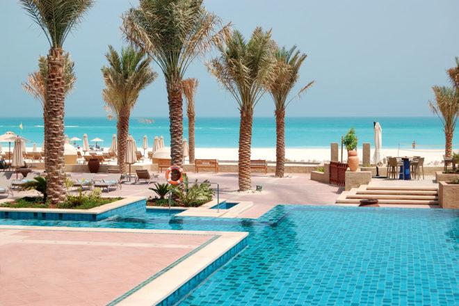 Saadiyat Beach Club, Abu Dhabi.