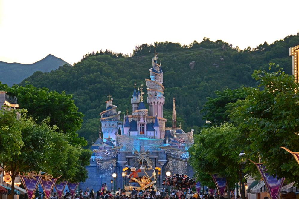 Hong Kong Disneyland.