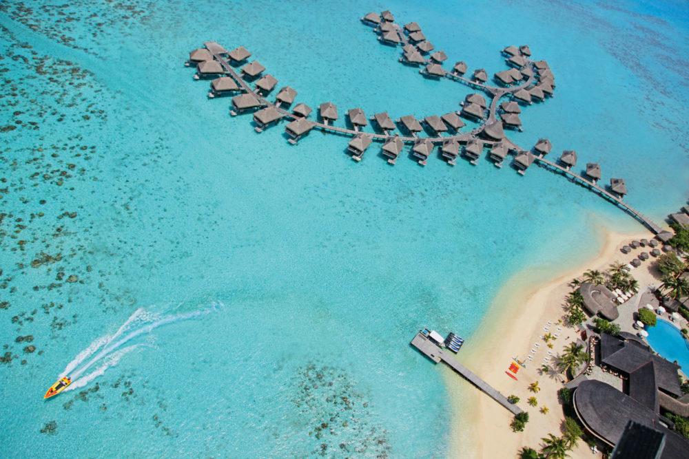 Hilton Moorea Lagoon Resort & Spa in Polynesia.