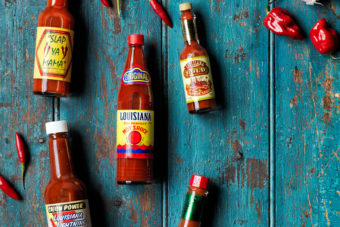Louisiana hot sauces