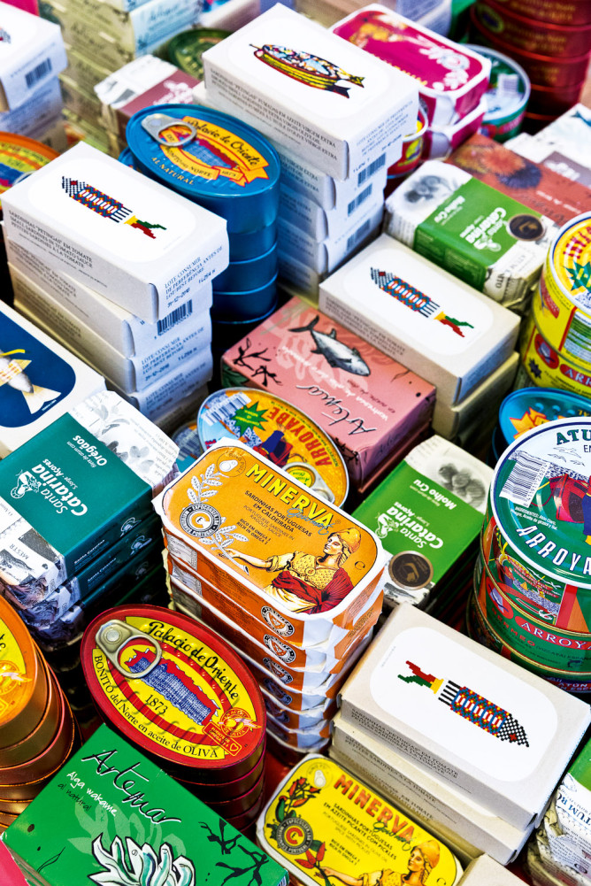 The island has turned canned fish into an art form.