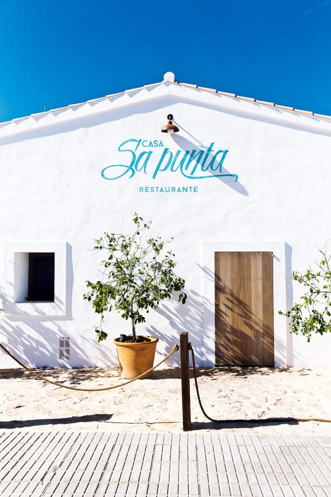 Sa Punta restaurant, Formentera.