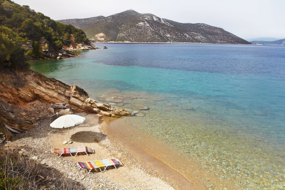 Silver Island Yoga in Greece