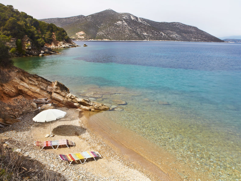 Silver Island Yoga in Greece
