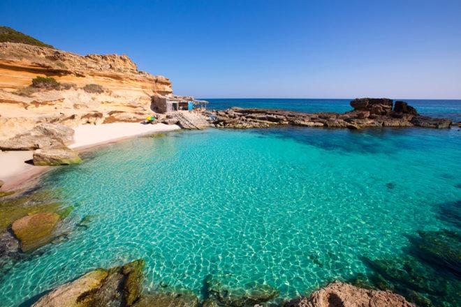 Formentera near Ibiza, Spain.