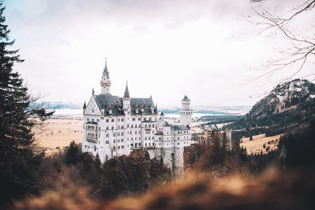 Schloss Neuschwanstein, Schwangau in Bayern, Germany.