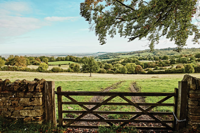 There are many lengthy walks in theCotswolds, perfect fora sunny day.