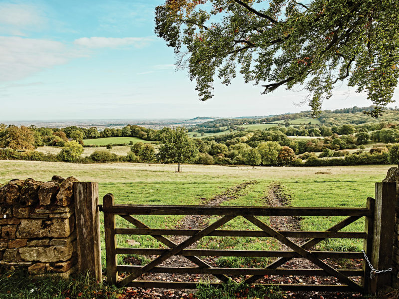 There are many lengthy walks in the Cotswolds, perfect for a sunny day.