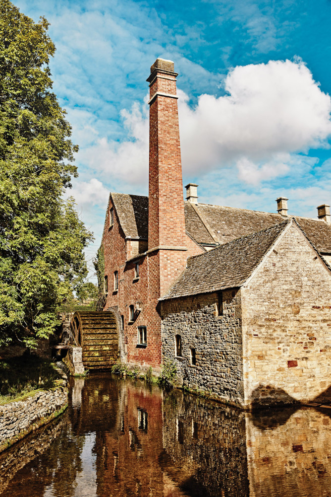 The Old Mill at Lower Slaughter, England.
