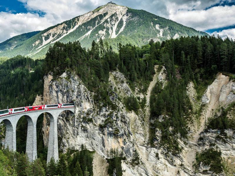 Glacier Express train journey, Switzerland