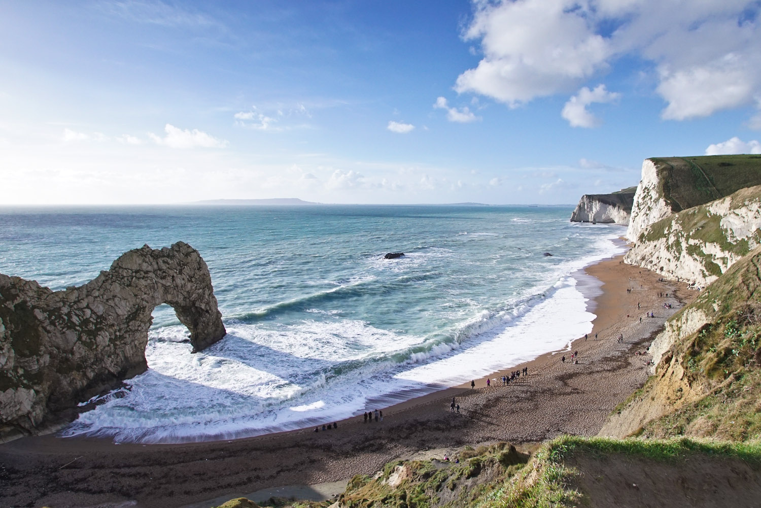 Welcome to the dramatic rock formation that is Durdle Door in Dorset England. & England\u0027s must-see coastal icon - International Traveller