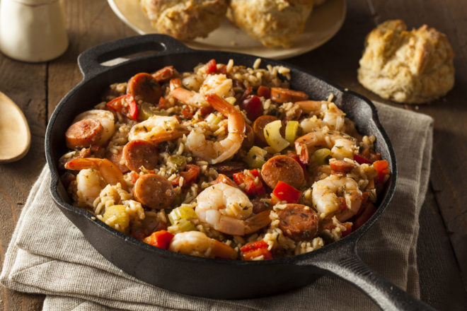 Jambalaya in America's Deep South.