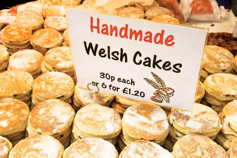 Traditional Welshcakes.