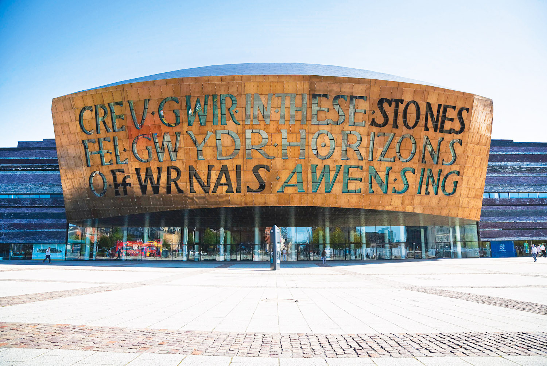 The Wales Millennium Centre, Cardiff.