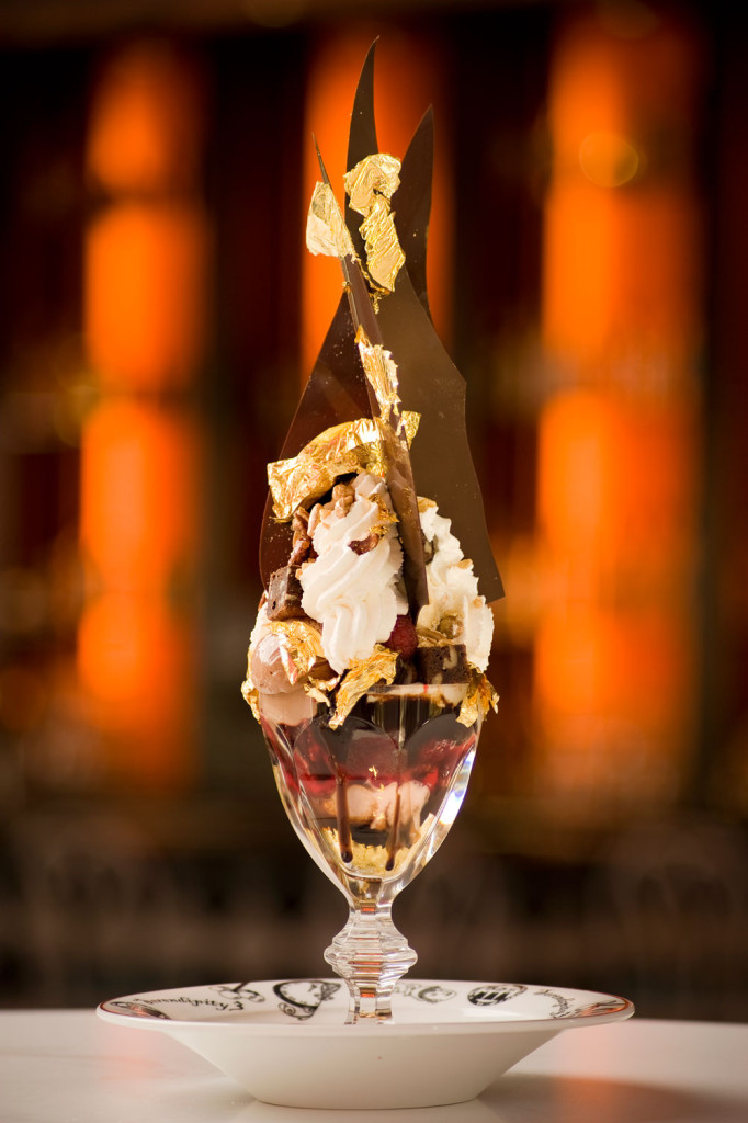 The Golden Opulence Sundae from Serendipity 3, Las Vegas.