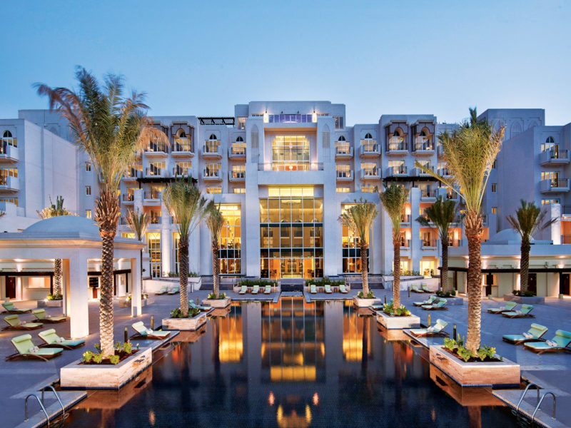 Anantara Eastern Mangroves Hotel and Spa swimming pool.