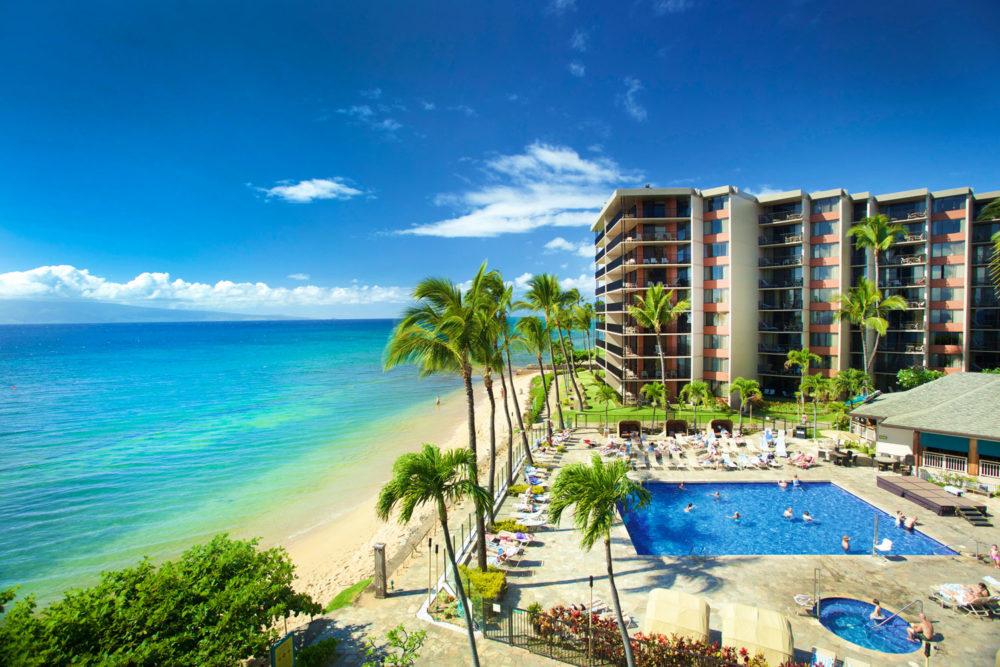 Aston Kaanapali Shores on Maui, Hawaii.