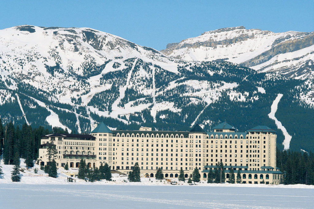 Fairmont Chateau Lake Louise in Banff, Alberta
