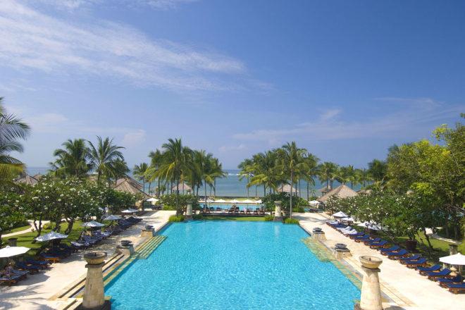 Conrad Bali resort.