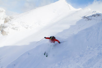 Delirium Dive, Sunshine Village: