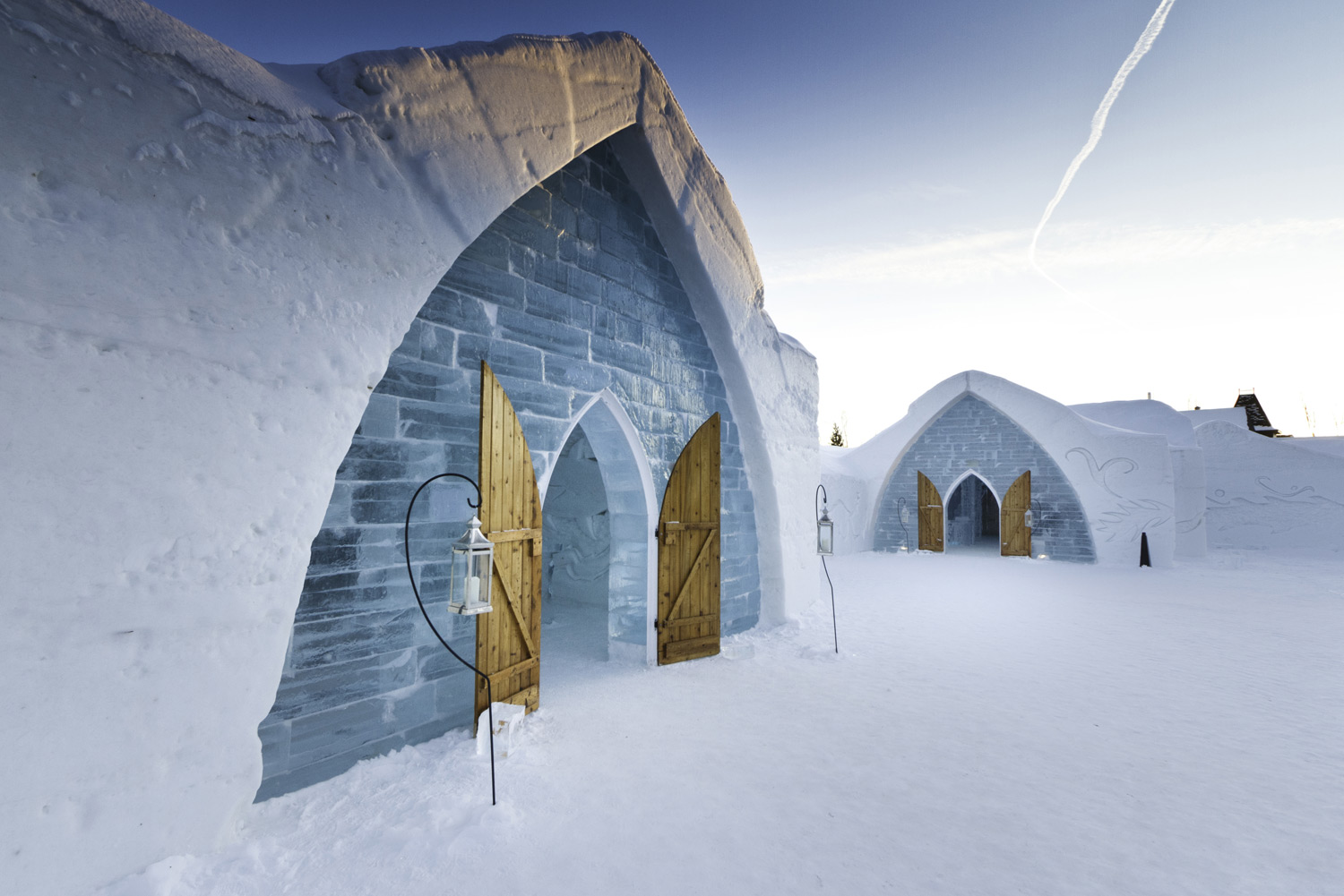 Stay at Hotel de Glace in Quebec City