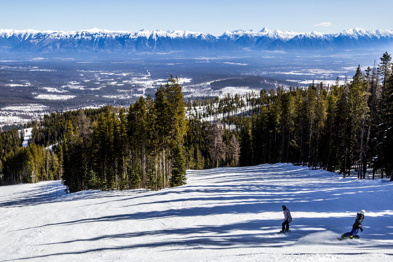 Kimberley Alpine Resort receives more sun than any other resort in British Columbia.