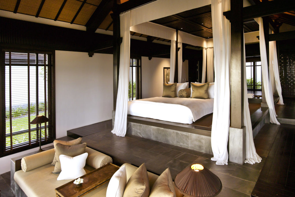 Guest villa at The Nam Hai hotel in Hoi An, Vietnam.