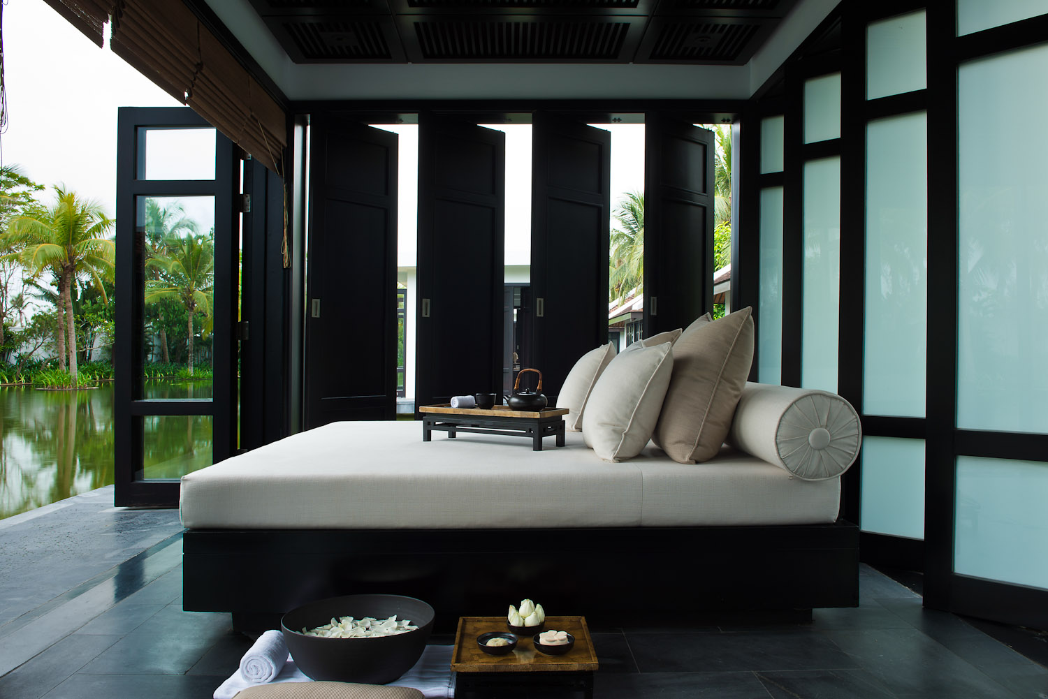 Reset Your Clock To Holiday Time With A Treatment At Nam Haiu0027s Tranquil Spa.