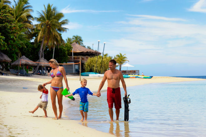 Family holiday in Fiji