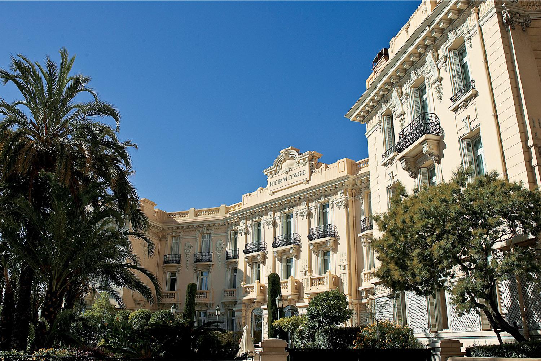 Hotel Hermitage, Monaco.