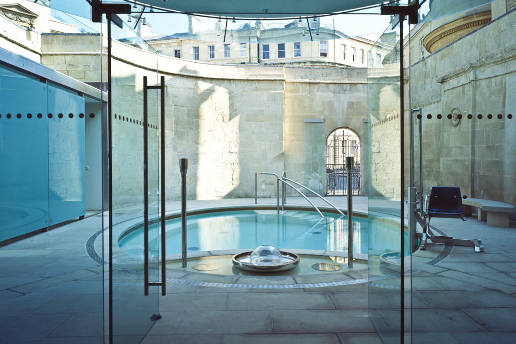 Thermae Bath Spa in Bath, England.