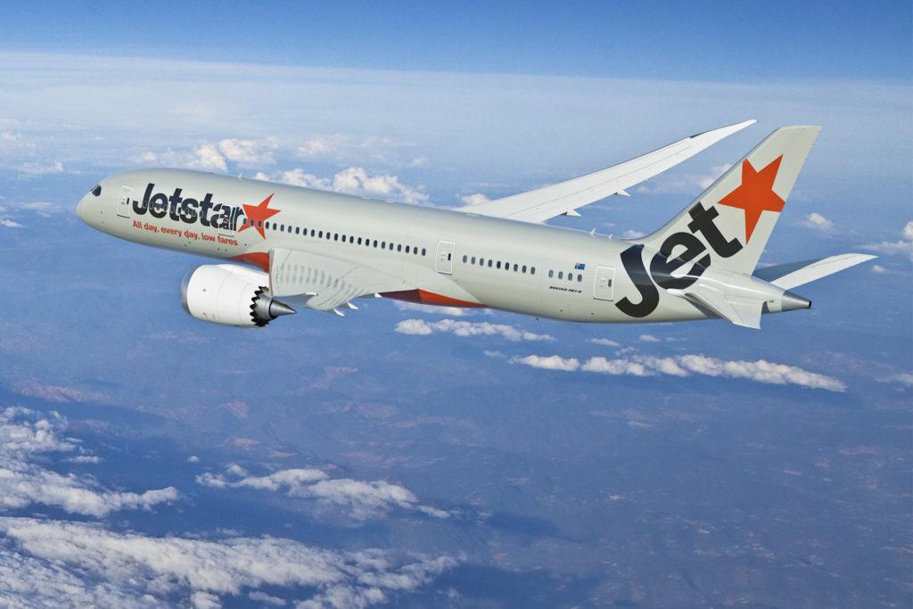 Jetstar's Dreamliner 787