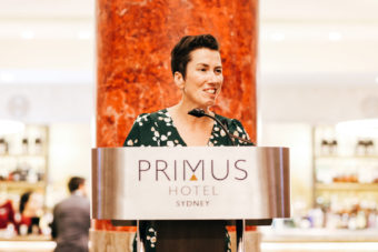 MC extraordinaire, International Traveller's Editorial Director, Leigh-Ann Pow.