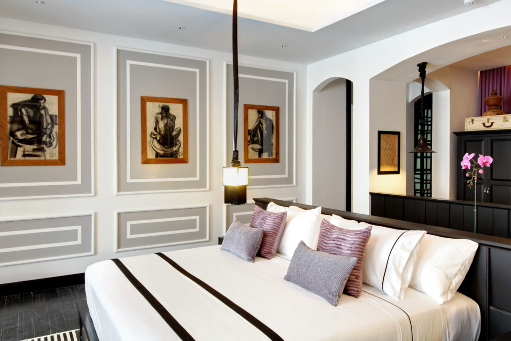 The Mae Nam Suite at The Siam hotel, Bangkok.