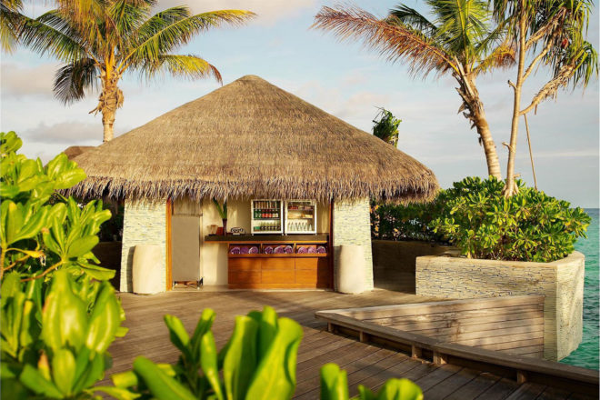 Sweet spot huts at W Retreat & Spa Maldives