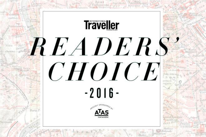 International Traveller's Readers' Choice Awards 2016