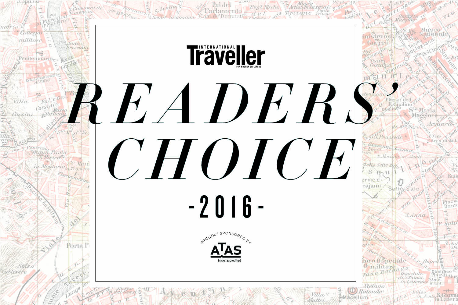 International Traveller's Readers' Choice Awards 2016