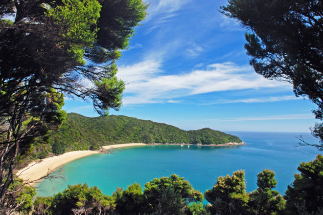 Abel Tasman Coast Track, New Zealand.