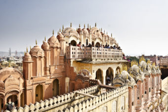 Rambagh Palace hotel in Jaipur, India.