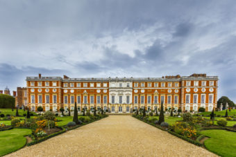 Hampton Court Palace in London, England