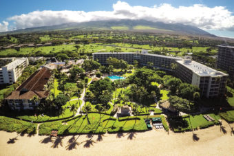 Kaā'anapali Beach Hotel in Hawai'i.