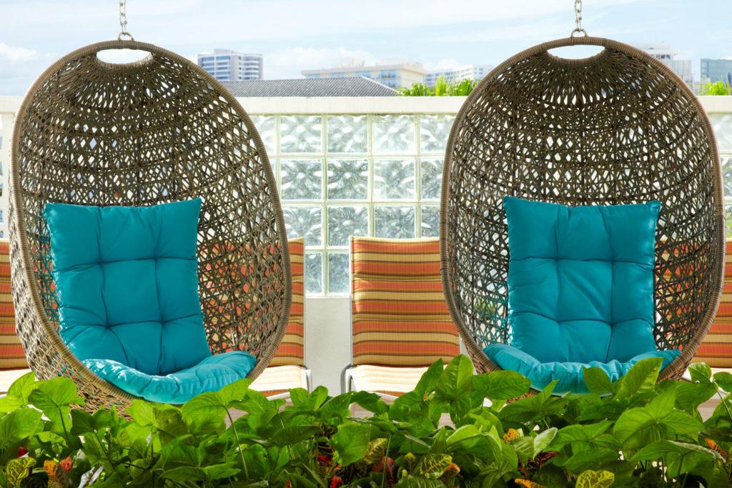 Aqua Oasis lobby chairs