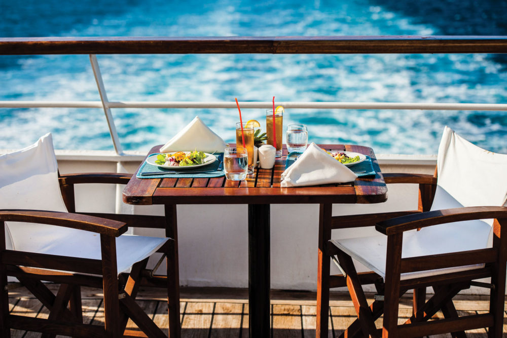 All inclusive price tag on the Aegean Odyssey.